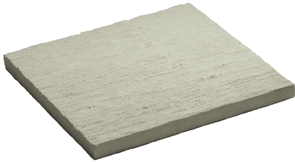 [tile]42B-White Lime Stone Etched